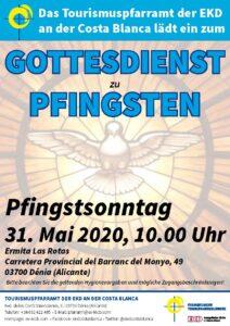 Gottesdienst zu Pfingsten 2020
