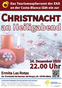 Flyer Christnacht Dénia 2019