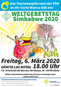 Flyer Weltgebetstag 2020